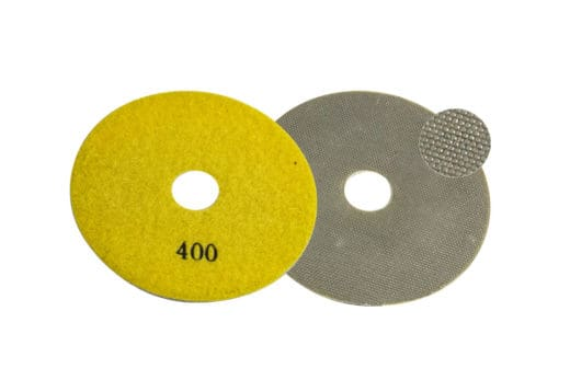 Diamond Pad 100Ø Yellow QRS Image