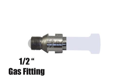 A36 Profile R5 Half Inch Gas Fitting