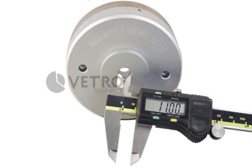 Diamond Wheel 100Ø Continuous 7x8 Arris 11 Bore Product Watermark