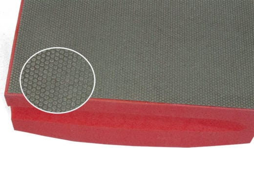 Red Hand Pad Grit Close Product